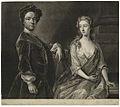J Faber jr. after H Hysing - Christian Friedrich Zincke & Elizabeth Zincke née Bothmar, mezzotint 1720s-1750s NPG D26280.jpg