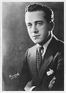 Jack Mulhall American actor