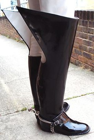 Jackboot - Jackboots of the Household Cavalry, British Army
