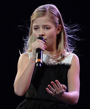Jackie Evancho - Evancho in her concert with David Foster, December 29, 2011
