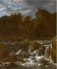 Jacob van Ruisdael - Waterfall - Petworth.png