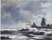 Jacob van Ruisdael - Winter Landscape with a Windmill.jpg