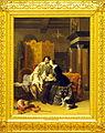 Jacobus Josephus Eeckhout (1793-1861), Huiselijke zorgen, 1844, Olieverf op paneel.JPG