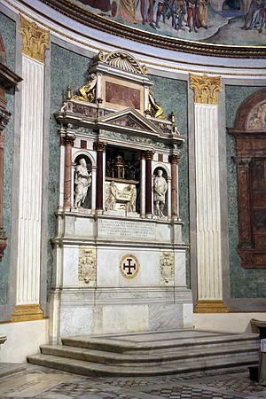 Francisco de Quiñones - His tomb by Jacopo Sansovino