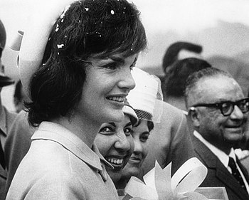 Jacqueline Kennedy in Venezuela during Decembe...