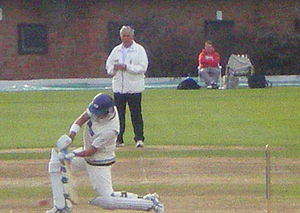 Jacques Rudolph - Rudolph cover drive for Yorkshire