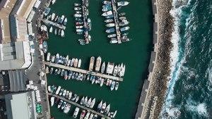 File:Jaffa Port Tel Aviv - Israel from Above 4K (Dji Mavic Air) נמל יפו - תל אביב.webm