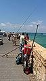Jaffa fisherman (14994423771).jpg