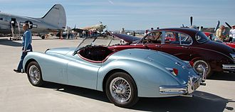 Jaguar XK140 - Roadster rear