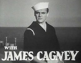 James Cagney in Here Comes the Navy