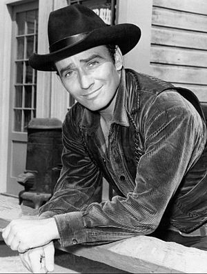 James Drury - James Drury in a publicity photo for The Virginian (1971)