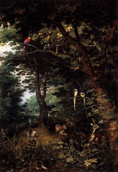 File:Jan Brueghel (I) - The Earthly Paradise - WGA3551.jpg