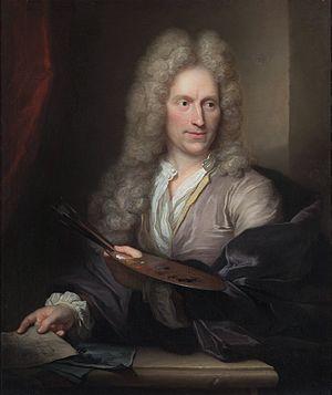 Arnold Boonen - Image: Jan van Huysum portrait by Arnold Boonen