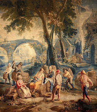 Jan van Orley - The Vintage, tapestry