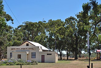 Jancourt East - Red Hill Public Hall, at Jancourt East