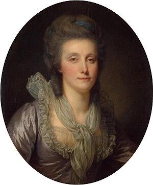 Shuvalov - Portrait of Countess Catherine P. Shuvalova, 1770s, by Greuze
