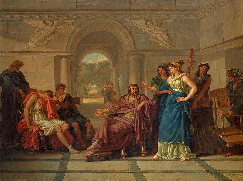 File:Jean-Jacques Lagrenée - Helen Recognising Telemachus, Son of Odysseus - WGA12378.jpg