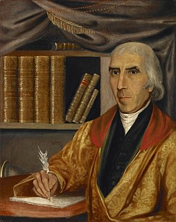 Jedidiah Morse US-American geographer and clergyman (1761-1826)