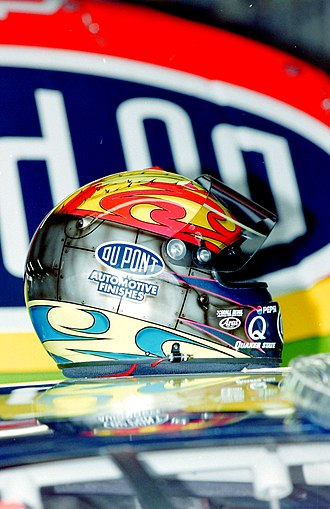 Racing helmet - Jeff Gordon's racing helmet