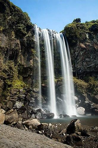 Seogwipo - Jeongbang Waterfall