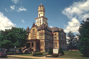 Jersey County Courthouse in Jerseyville
