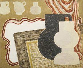 Vases sur une table