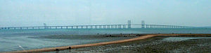 Jiaozhou Bay Bridge - Image: Jiaozhou Bay Bridge