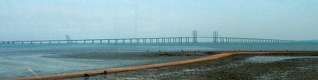 640px Jiaozhou Bay Bridge toll bridges