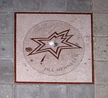 Hennessy's star on Canada's Walk of Fame