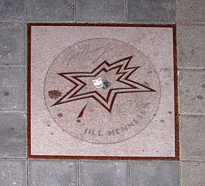 Jill Hennessy - Hennessy's star on Canada's Walk of Fame