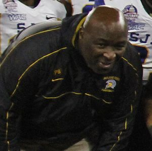 Jim Jeffcoat - Jeffcoat after the 2012 Military Bowl.