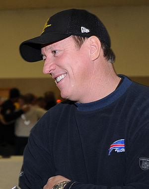 History of the Buffalo Bills - Jim Kelly quarterbacked the Bills for much of the 1990s.