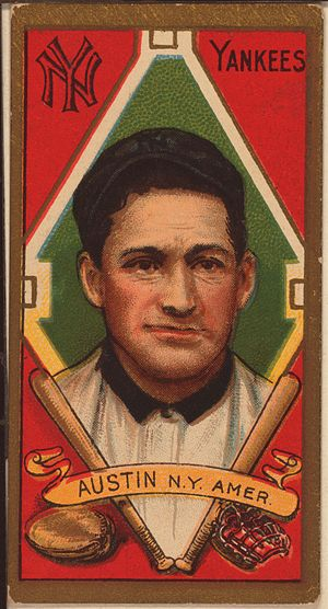 Jimmy Austin - Image: Jimmy Austin baseball card