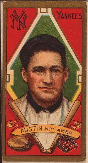 Jimmy Austin - Image: Jimmy Austin baseball card