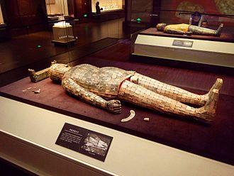 Liu Sheng, Prince of Zhongshan - Jade burial suit of Liu Sheng, Hebei Museum