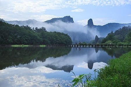Xiandu, Jinyun, Zhejiang, China.