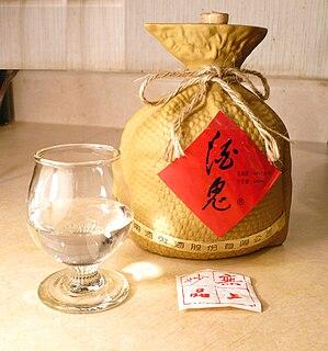 <i>Baijiu</i> Chinese distilled liquor
