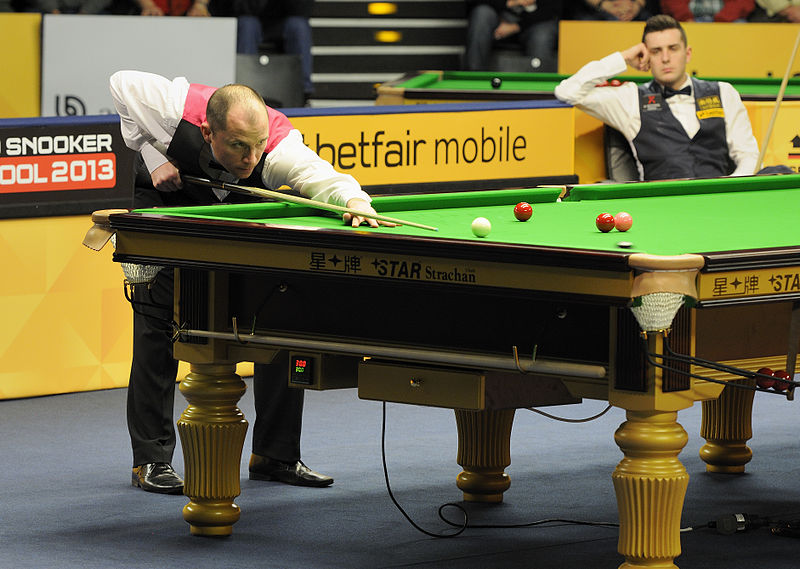 File:Joe Perry and Mark Selby at Snooker German Masters (DerHexer) 2013-01-31 02.jpg