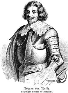 Johann von Werth German cavalry general