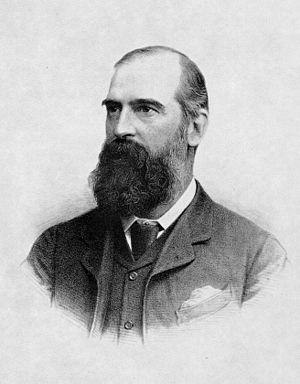 Sir John Brunner, 1st Baronet - John Brunner in 1885