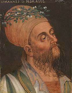John Henry, Margrave of Moravia Margrave of Moravia (1349-1375) and Count of Tyrol (1335-1341)