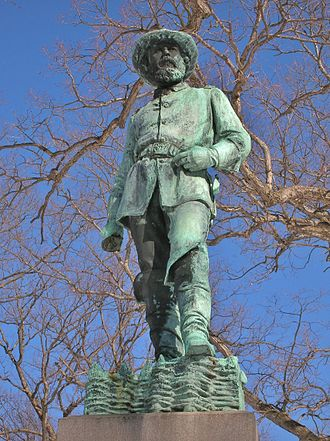 George Edwin Bissell - Image: John Lyman Chatfield Monument by George Edwin Bissell, Riverside Cemetery, Waterbury, CT February 2016