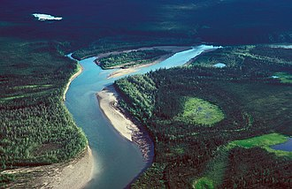 John River (Alaska) - John River near Bettles