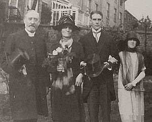 John Tiarks - John Tiarks with his wife and parents, 1927