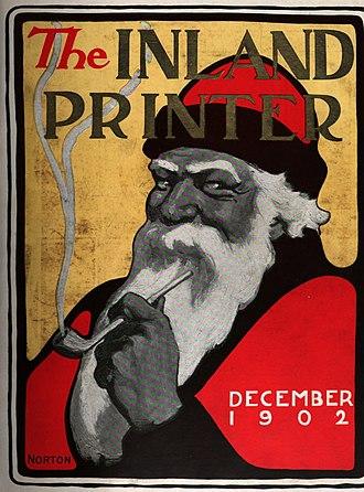 John W. Norton - Image: John W. Norton, The Inland Printer December 1902 cover