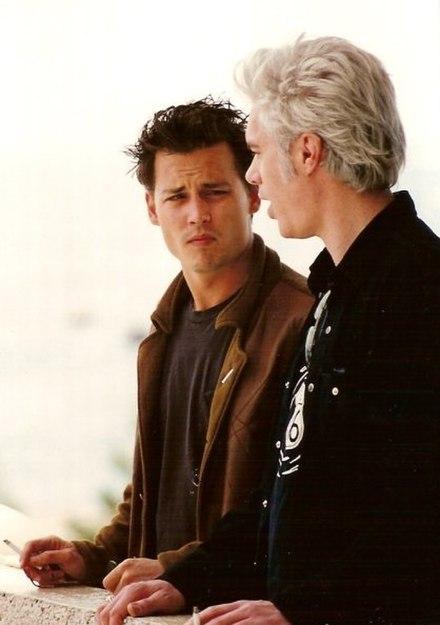 Johnny Depp Jim Jarmusch Cannes 1995