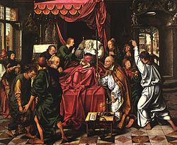 Der Tod der Jungfrau, 1605-06 Detail von 3678 9