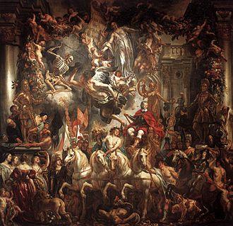 Oranjezaal - Image: Jordaens Triumph of Frederik Hendrik