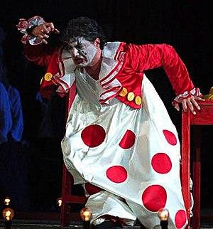 José Cura - José Cura as Canio in Pagliacci, 2006, Arena di Verona