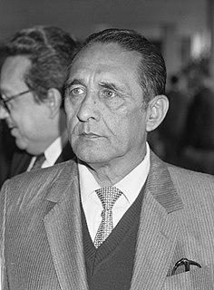 José Napoleón Duarte President of El Salvador